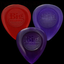 3 x Dunlop Big Stubby Guitar Picks Plectrums - 1 Of Each Type