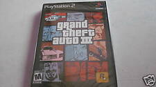 GTA 3 LIBERTY CITY PS2 ORIGINAL BRAND NEW SEALED
