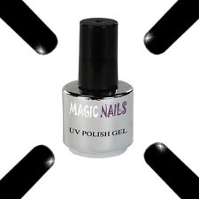 UV POLISH SOAK OFF GEL NAIL ART SMALTO COLORE # BLACK NIGHT