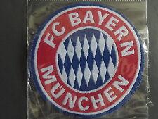 bayern munchen -  badge embroidery - new - sew or iron - bayern munich - germany