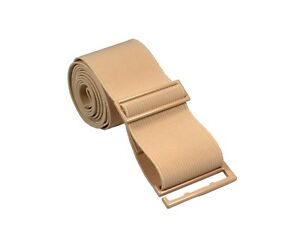 Lady Invisible Belt - Web Canvas Elastic Adjustable Skinny No Show Belt
