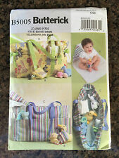 Butterick Diaper bag changing pad pacifier case PATTERN - Brand new - B5005