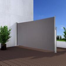 NOOR® Seitenmarkise Exklusiv 200x350 cm anthrazit Windschutz Sonnenschutz