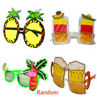 Fashion Novelty Funny Party Plastic Eye Glasses Beach Sunglasses Accessory Gift