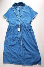 KAPITAL Indigo Shirt Denim Mongolia Robe One‐piece dress sz 1 womens Japan New