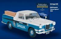 Siam Di Tella Argenta Pick Up Pistons Rare Argentina Diecast Scale 1:43+Magazine