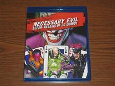 Necessary Evil: Super-Villains of DC Comics (Blu-ray Disc, 2013)