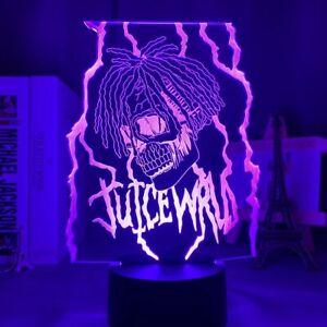 Juice WRLD LED Bedside 3D Desk Lamp Home Decoration Colorful Night Light Gift