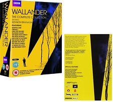 WALLANDER 1-4 (2008-2016): COMPLETE Kenneth Branagh Season Series R2 DVD not US