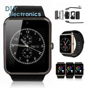 GT08 Bluetooth Smart Watch Camera For Android iOS iPhone Apple  Smartphone US