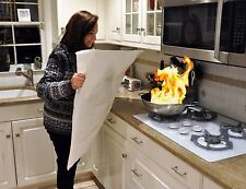 Skil-Care Kitchen Flame Snuffer Fire Blanket Stove Pan Grease Fire Extinguish