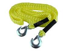 Great Value 4 Meter Flexible Tow Rope with Hooks 2000 kg