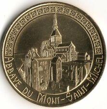 Monnaie de Paris - ABBAYE MONT-ST-MICHEl - VUE AERIENNE COTE NORD 2020 CMN