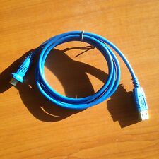 1.5m blue usb lead standard for printer scanner etc