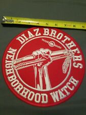 Diaz Brothers 8 Inch Fully Embroidered Patch Nate and Nick Diaz mma jiu jitsu