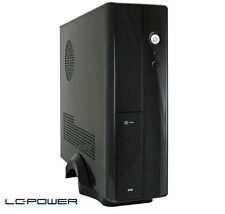 LC-Power - Mini-ITX- & Micro-ATX-Gehäuse LC-1400mi mit Netzteil und USB 3.0