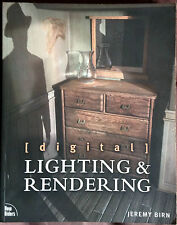 Lighting & Rendering & Character Animation Techniques Book LOT 3D ART Graphics