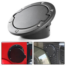 1× Fuel Filler Door Cover Gas Tank Cap For Jeep Wrangler JK Unlimited Decoration
