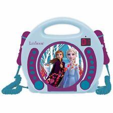 Lexibook RCDK100FZ Disney Frozen II CD Player with Microphones