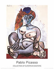 Woman with Turban by Pablo Picasso Art Print Poster 27.5x35.5