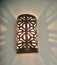applique murale Marocaine fer forgé p lampe lustre lanterne decoration oriantale