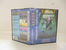 ☺ Jeux Mega Drive Sega Ecco The Tides Of Time Vendu Avec Boite & Notice