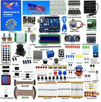 Adeept Ultimate Starter learning Kit for Arduino UNO R3 with Paper Guidebook