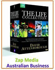THE LIFE - COMPLETE DVD COLLECTION - DAVID ATTENBOROUGH - BRAND NEW & SEALED
