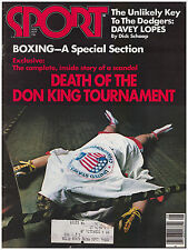Sport Magazine August 1977 Death of Don King Boxing Tournament, Sugar Ray, Ali
