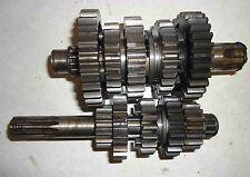 Kawasaki 85-86 KX KXT 250 Transmission Input & Output Shaft + Gears Assembly