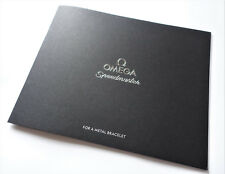 "Omega Speedmaster Professional ""Légendaire MoonWatch"" Sangle Instruction Book"
