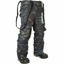 Nomis SC CARGO Snow Pant Removable Suspender Bib Hidden Camo Burton 686 RARE M