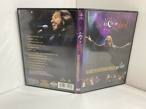 Una Marco Antonio Solis: Una Noche en Madrid (DVD, 2008) w/ Insert VERY GOOD, a6
