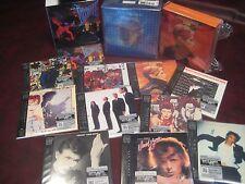 DAVID BOWIE LOW & LET'S DANCE JAPAN REPLICA OBI CD BOXES + BONUS COLLECTORS BOX