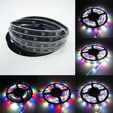 5m 150LED SK6812 RGBW 4 in 1 led strip similar WS2812B black PCB waterproof IP67