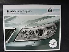 Skoda Octavia  - Ausstattungspaket Licht & Design - Prospekt Brochure 12.2009