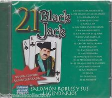 SEALED - Salomon Robles y Sus Legendarios CD 21 Black Jack BRAND NEW