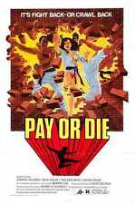 Pay Or Die Poster 01 Metal Sign A4 12x8 Aluminium