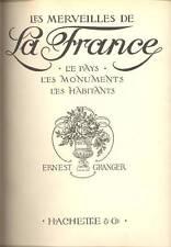 GRANGER Ernest, Les merveilles de la France