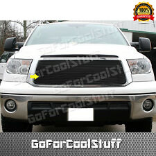 For 2010 2011 2012 2013 Toyota Tundra 1Pc Upper ( Black ) Billet Grille Insert