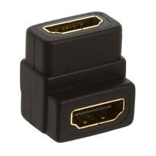 HDMI Coupler 90 Degree Female to Female Extender for HDMI Cable HDTV Gold Plated