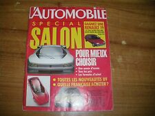 L'AUTOMOBILE MAGAZINE SALON 1988