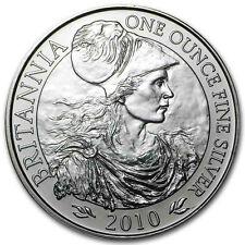 New 2010 UK Great Britain Silver Britannia 1oz Bullion Coin
