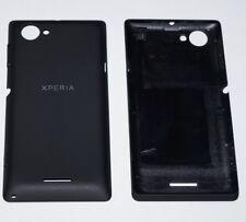Original Sony Xperia L (C2104, C2105) Akkudeckel Battery Cover + Tasten Schwarz