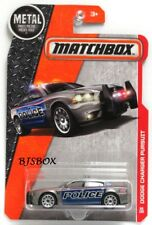 Matchbox 2016 Metal Series DODGE CHARGER PURSUIT #86 Police Gray Blue Rare New
