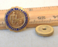 LINCOLN MERCURY REGISTERED MECHANIC PIN~LGB 1/10 10K GF