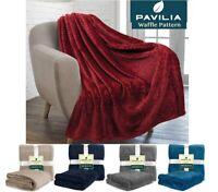 Microfiber Fleece Throw Blanket Soft Plush Accent Decorative Coach Sofa Blanket