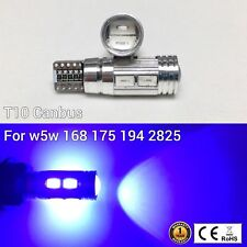 T10 W5W 194 168 2825 175 12961 Reverse Backup Light Blue 10 SMD Canbus LED M1 A
