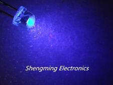 100PCS Straw Hat 5MM Purple LED UV LED Light Emitting Diode