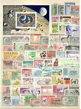 LIBERIA - 67 STAMPS + 1 SOUVENIR - MINT AND USED